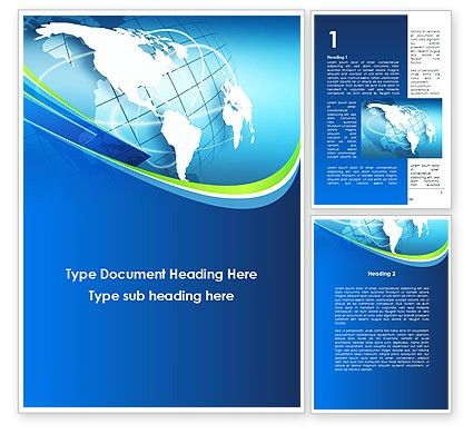 presentation cover template word company profile word templates ...