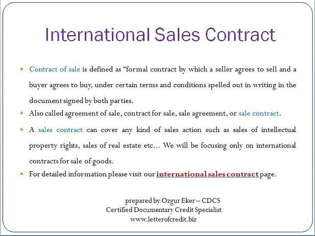 Sales Contract. Sales Contract Template Example 5+ Sales Contract ...