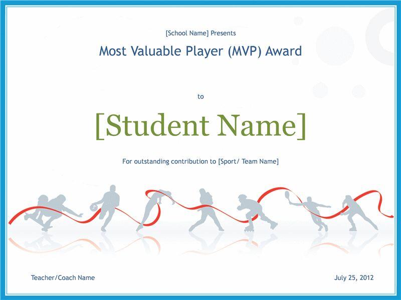 10 Sports Certificate Templates | Certificate Templates