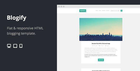 70 Flat Responsive HTML Website Templates | Web & Graphic Design ...