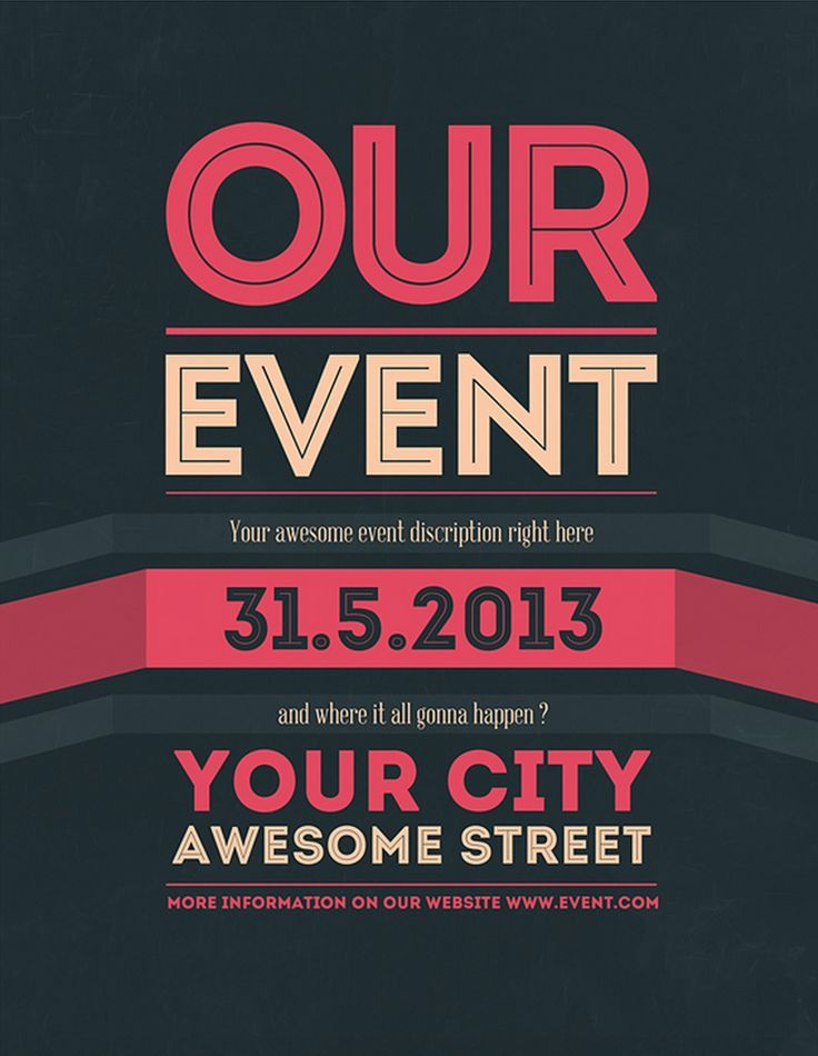 19 best Event Flyer Inspo images on Pinterest | Poster designs ...