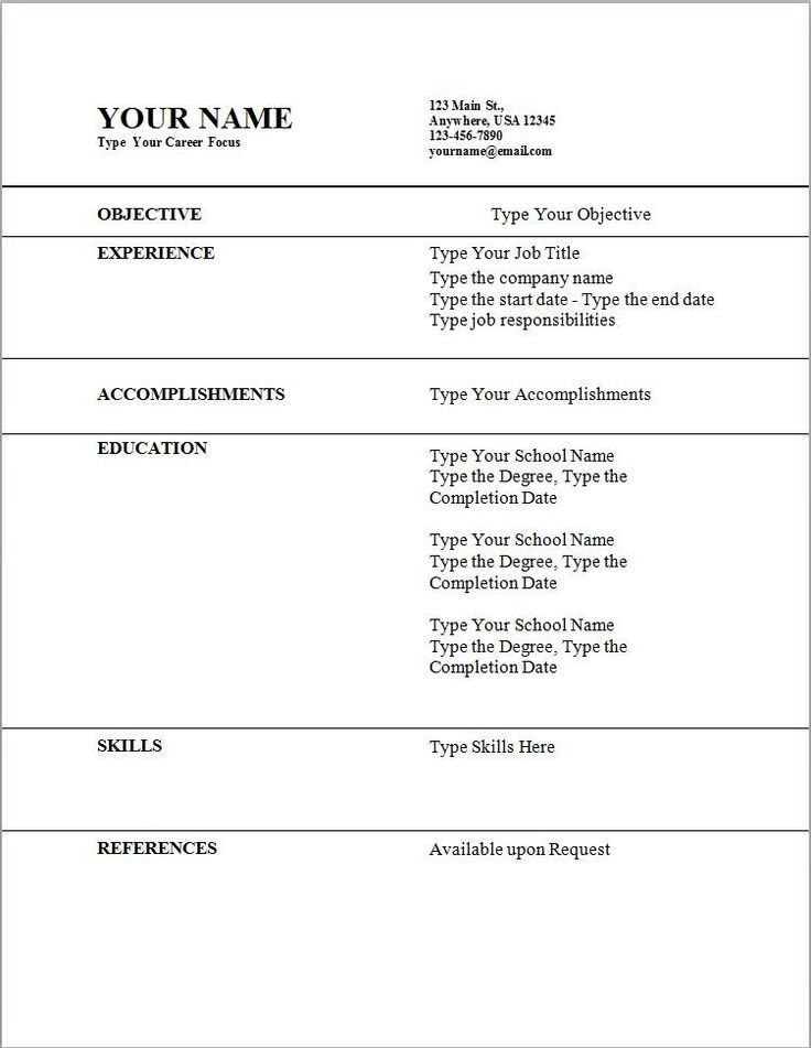 Job Resume Template Download. Bpo Call Centre Resume Sample Free ...