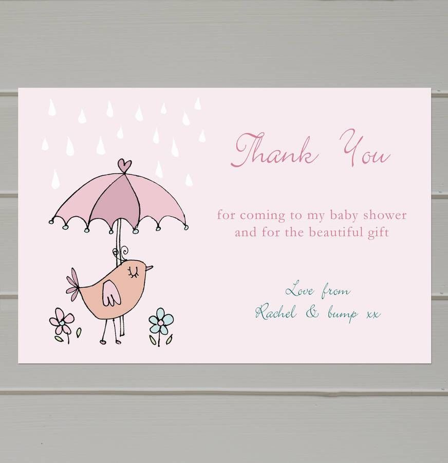 Thank You Card: Modern Collection Babyshower Thank You Cards Cheap ...