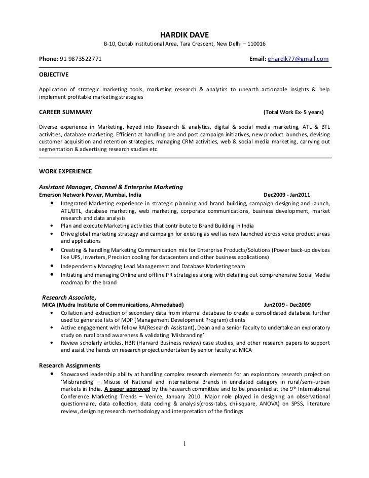 Business School Application Resume - Best Resume Collection