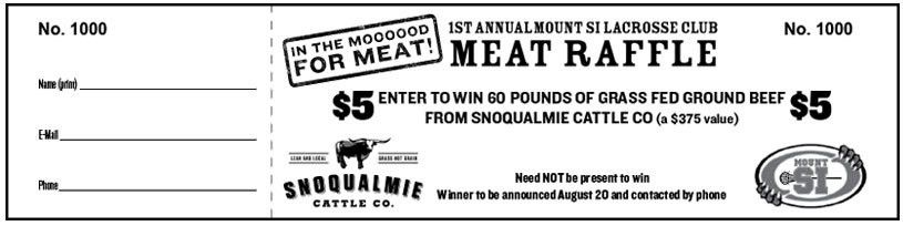 Fun Fundraisers: The Meat Raffle | The Lacrosse Wife