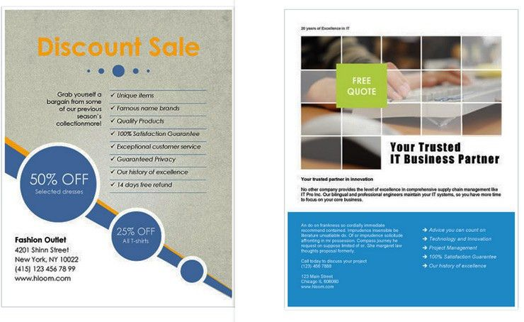 free business flyer templates for microsoft word - Template