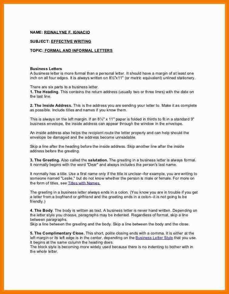 4+ 5 informal letters | postal-carrier