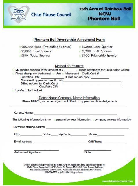 Rainbow Ball - Sponsor Now!