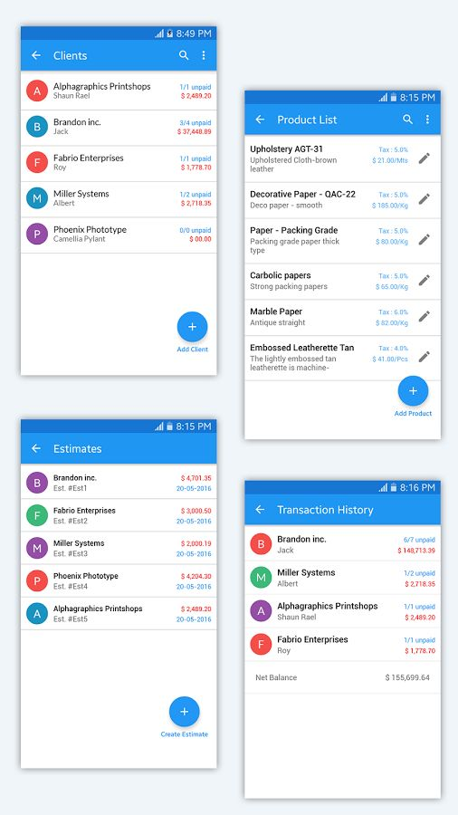 Simple Invoice Manager - Android Apps on Google Play