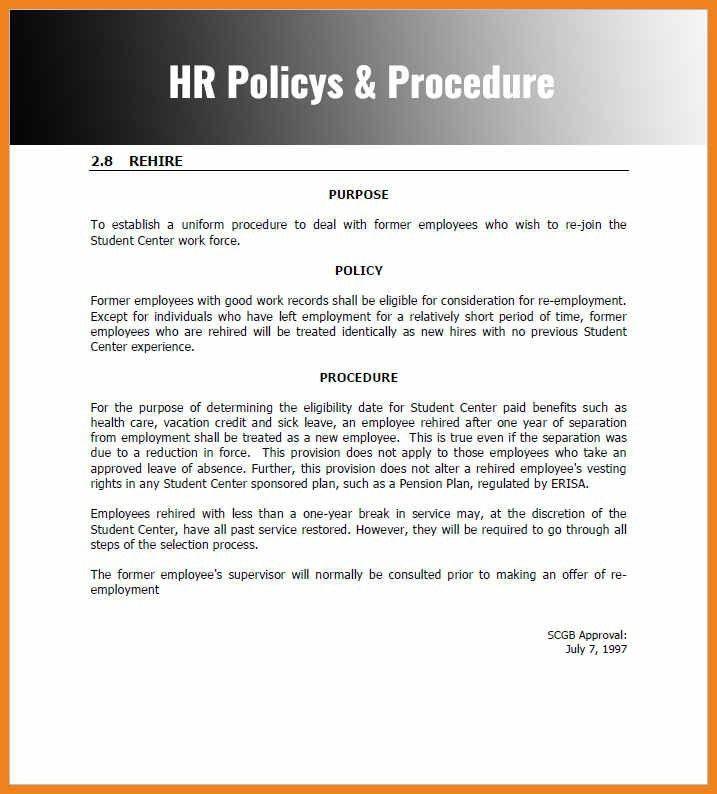 policy manual template | teller resume sample