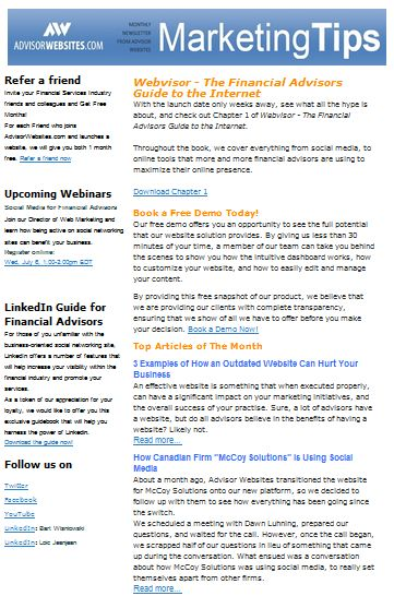 6 Tips for a Successful E-Newsletter