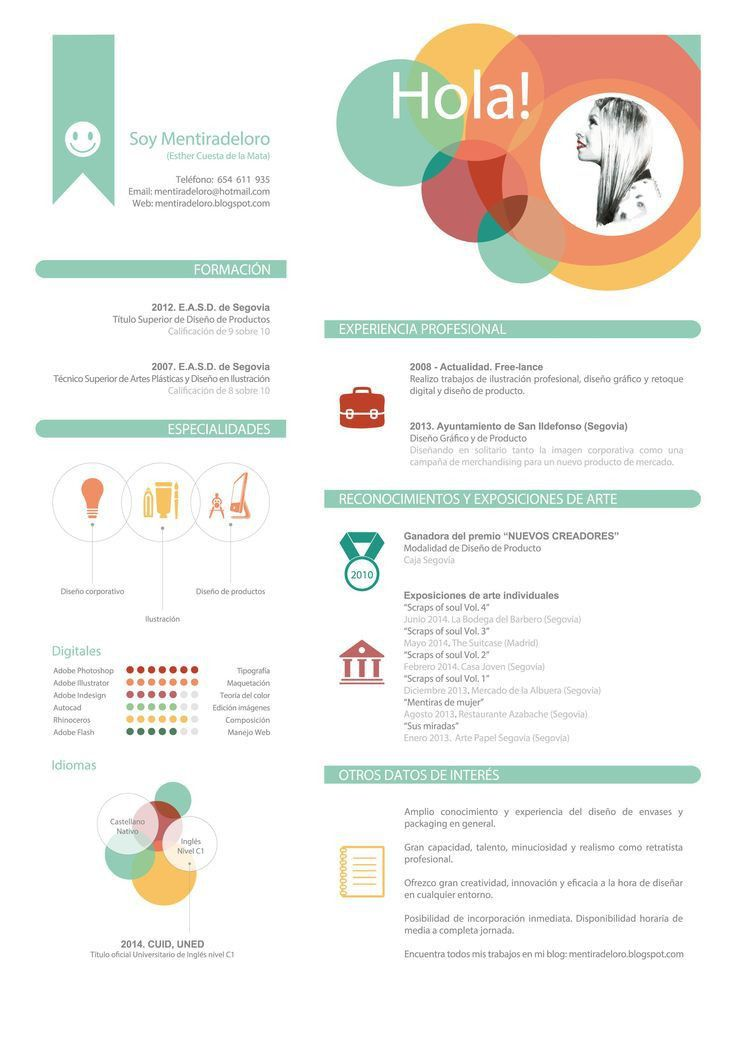 432 best Cv 2.0 images on Pinterest | Resume templates, Cv design ...