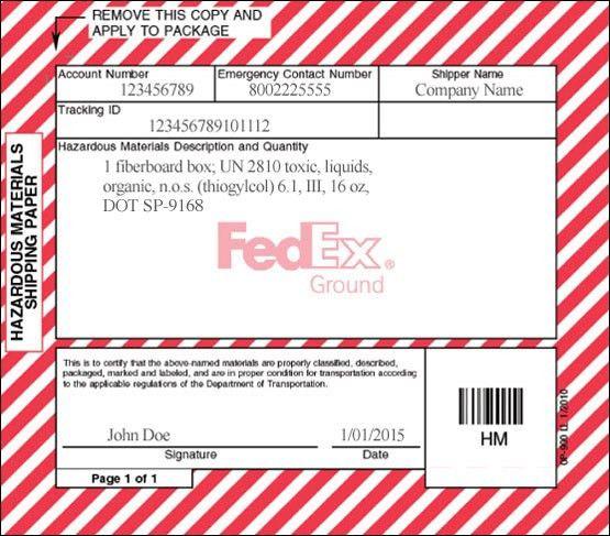 Hazardous Materials Resources - FedEx