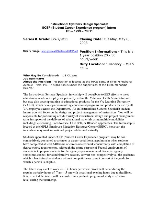 cover letter Usajobs Resume Sample help usajobs sample resume ...