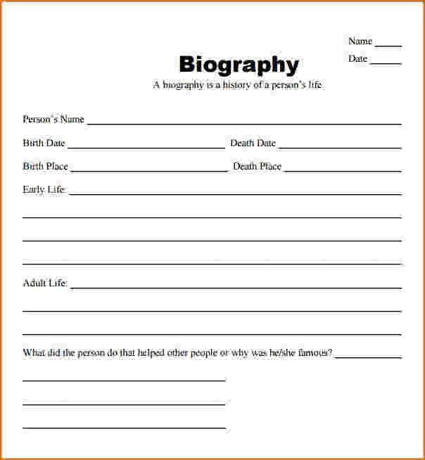 6+ biography templates | teknoswitch