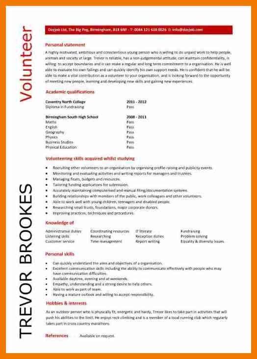 4+ volunteer resume samples | resume holder