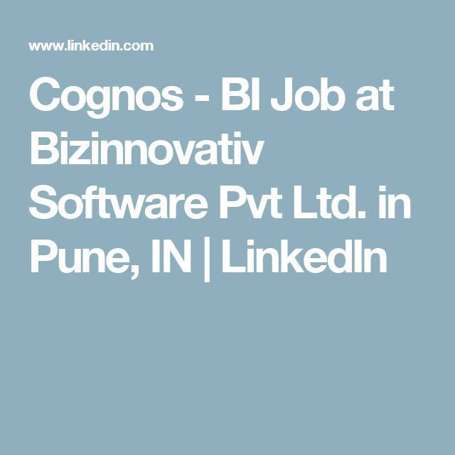 Best 25+ Cognos bi ideas on Pinterest | Make a resume online ...
