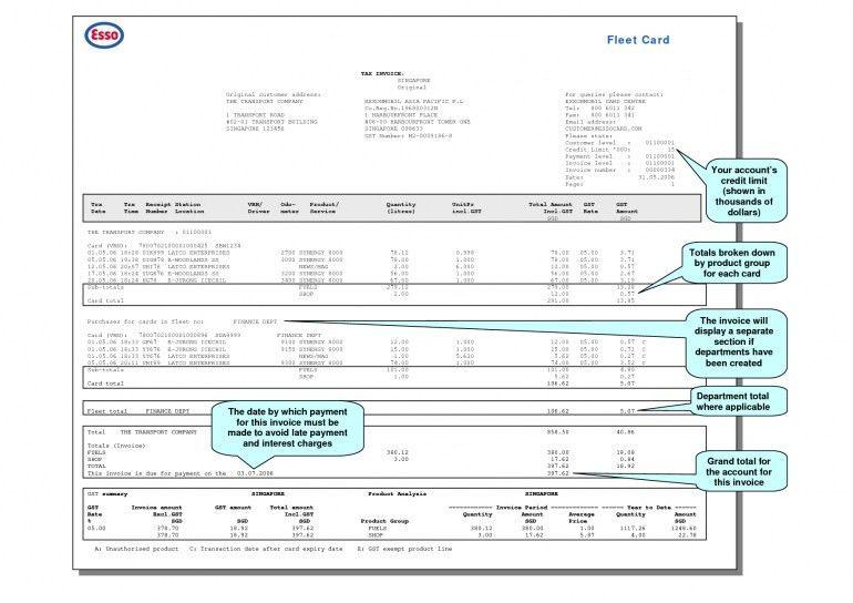 Example Invoice No Gst | Design Invoice Template