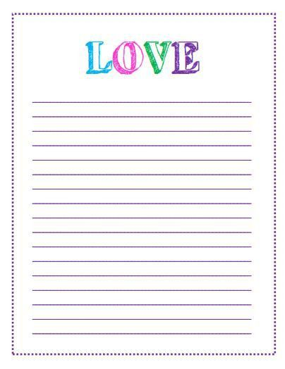 Free Printable Valentine's Day To Do Lists | Printable letters ...