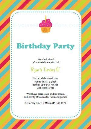 Luxury Birthday Invitation Templates birthday invitation template ...