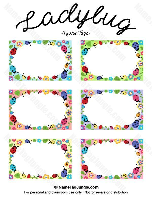Best 25+ Printable name tags ideas only on Pinterest | Instant ...