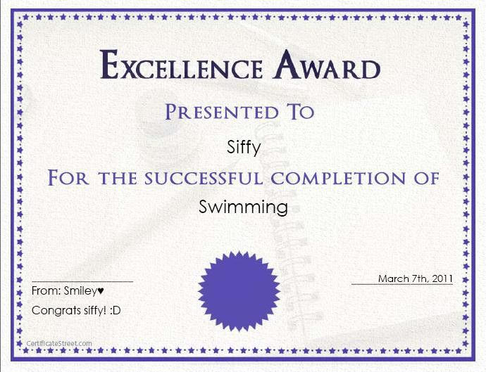 certificate maker - Template