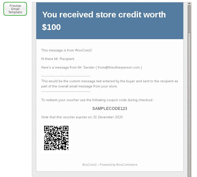 WooCommerce Gift Certificates Pro