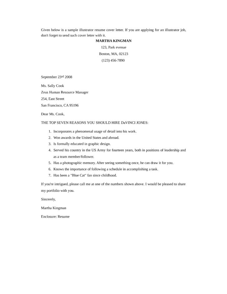 Best Writing for Basic Cover Letter Template