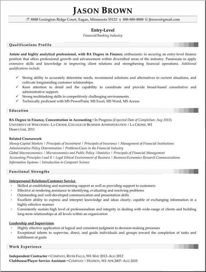 7 Entry Level Data Analyst Resume Resume entry level data analyst ...