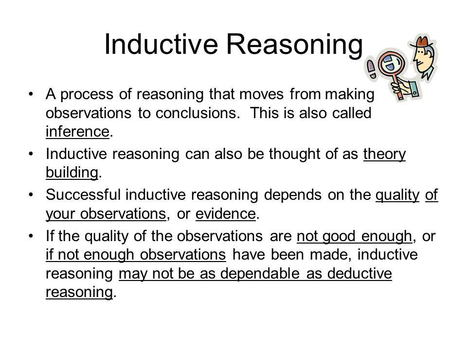 Inductive Reasoning Examples Essay Samples - Essay for you