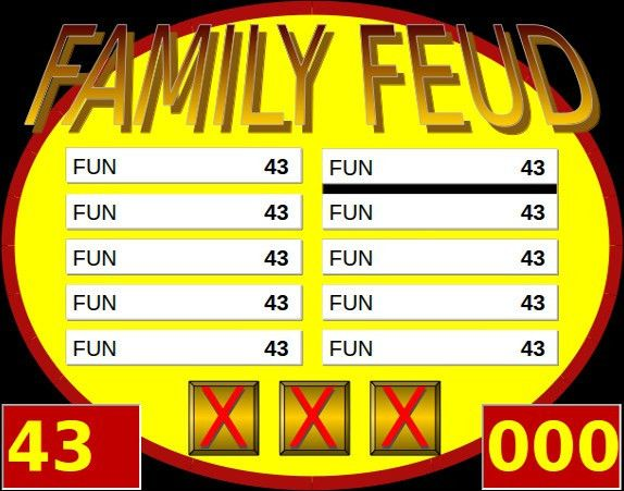 10+ Family Feud PowerPoint Templates – Free Sample, Example ...