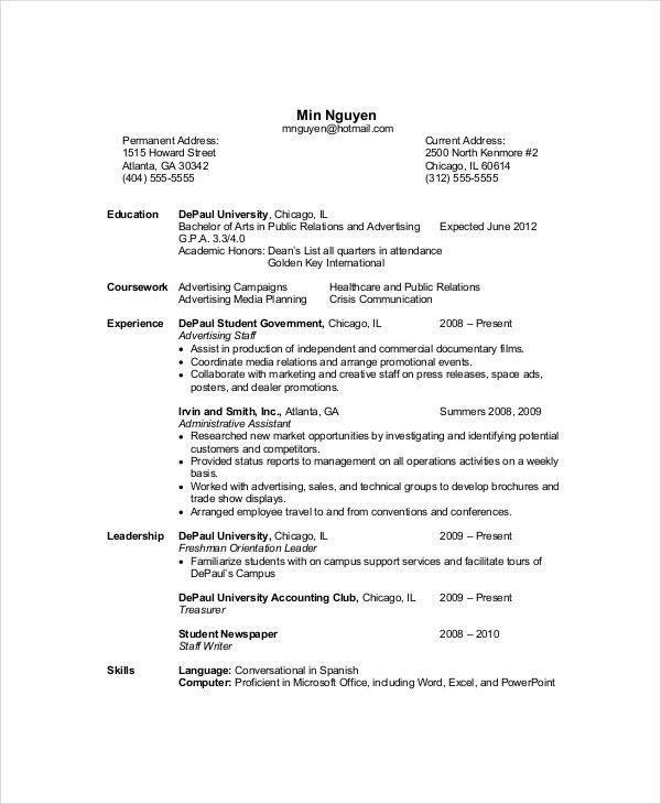 Charming Entry Level Computer Science Resume 55 For Modern Resume ...