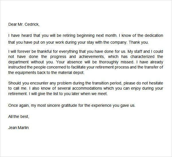 Resignation Letter Format: Top retirement resignation letter ...