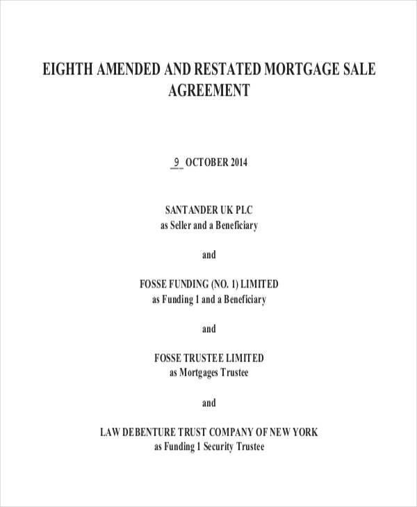 6+ Mortgage Contract Templates - Free Sample, Example Format ...
