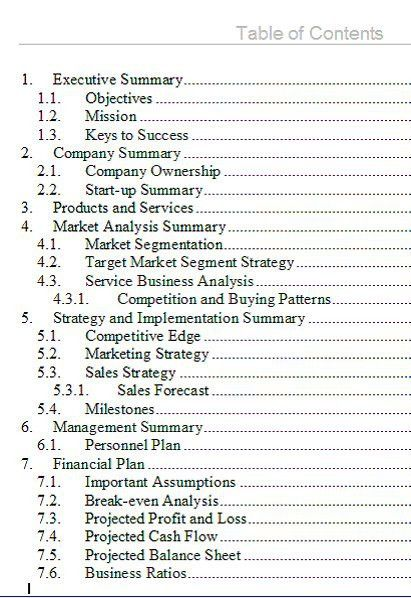 Business Plan Outline. Nonprofit-Business-Plan-Outline-Template ...