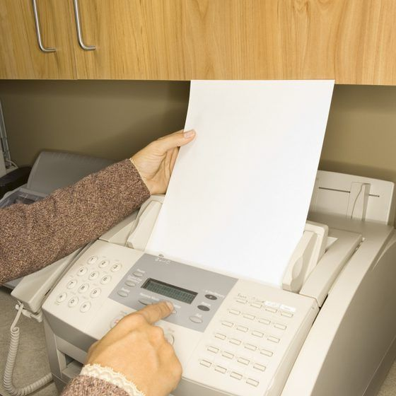 How to Do a Fax Cover Sheet as a Word Template | Your Business