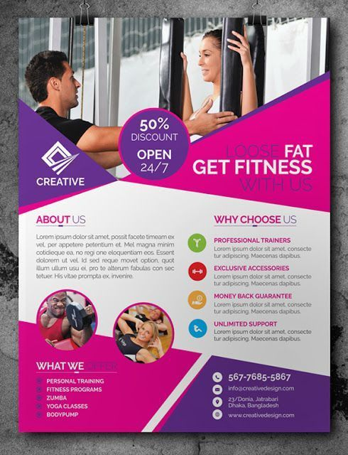 32 Superior Fitness Flyer Templates - Demplates