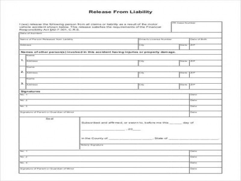 Release Of Liability Form For Car Price, Specs and Release Date ...