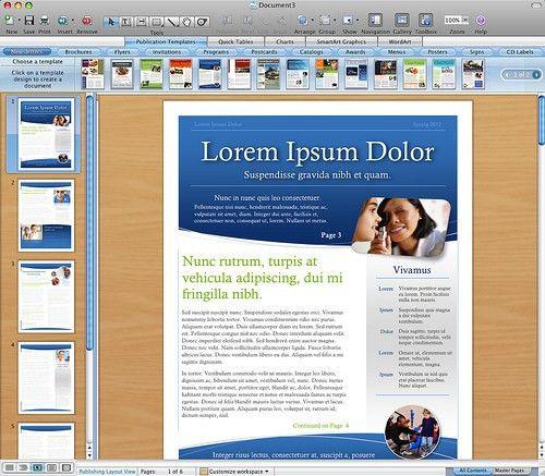 Modern Newsletter Template | Newsletter Templates For Word For Mac ...