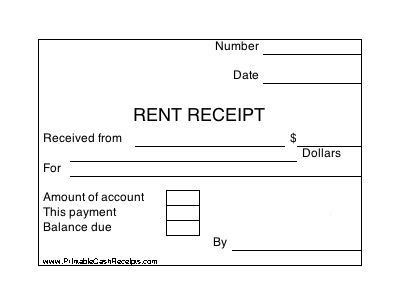 This Gardener Receipt can be used by a gardener, lawn mowing ...