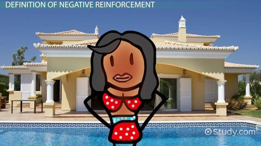 Negative Reinforcement: Examples & Definition - Video & Lesson ...