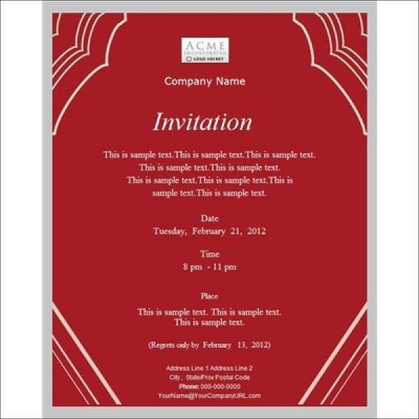 9+ Work Dinner Invitations - Free Sample, Example, Format Download ...