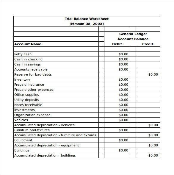 balance sheet format excel sheet free download - Template
