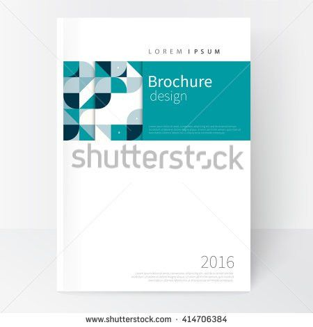 Business Brochure Cover Template Cover Design Stock Vector ...