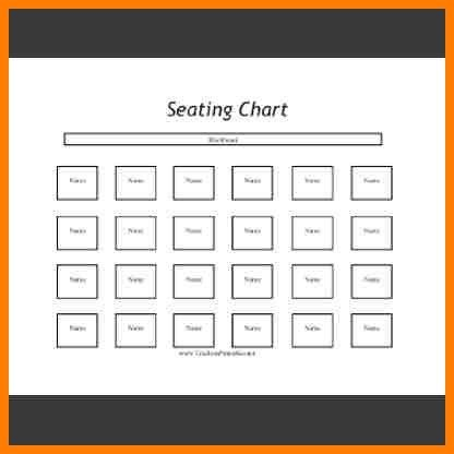 10+ classroom seating chart template | meal plan spreadsheet