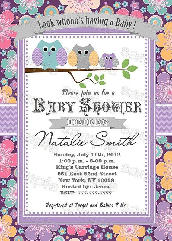 Free Printable Baby Shower Invitations Templates - Themesflip.Com