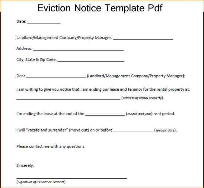 12+ eviction notice sample | academic resume template