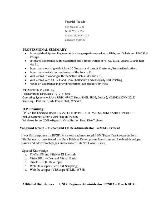 djd-resume(9e) - Unix-Linux Adminstrator