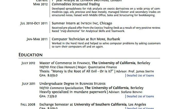 Sle Of High School Resume For College Application college ...