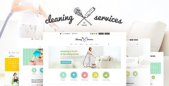 Cleaning Company - Maid & Janitorial Service Theme by AncoraThemes